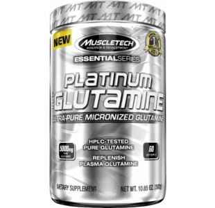 MuscleTech Platinum 100% Ultra Pure Micronised Glutamine - 300g