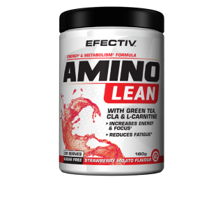Efectiv Amino Lean with CLA, L-Carnitine BCAAs - 180g
