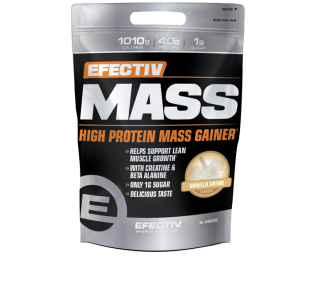 Efectiv High Protein Mass Gainer - 5.45kg