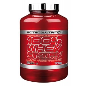 Scitec Nutrition 100% Whey Protein Professional with Whey Isolate - 2350g
