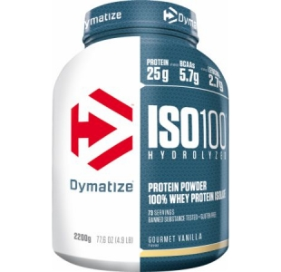 Dymatize Iso 100 Hydrolysed Isolate Whey Protein Powder - 2.2kg