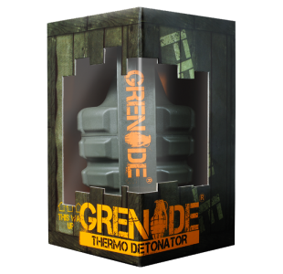 Grenade Thermo Detonator Fat Burner - 44 and 100 Capsules