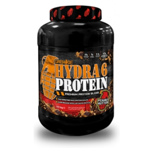 Grenade Hydra 6 Isolate Whey Protein and Casein Powder - 1.8kg