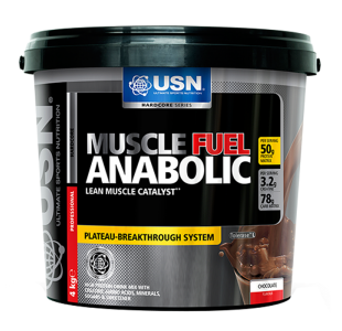 USN Muscle Fuel Anabolic Mass Gainer - 4 kg