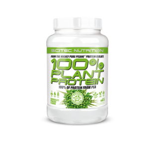 Scitec Nutrition Green Series 100% Plant Protein Isolate (Vegan Friendly) - 900g