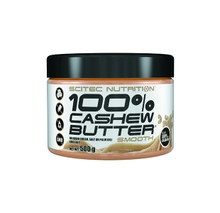 Scitec Nutrition 100% Smooth Cashew Butter - 500g