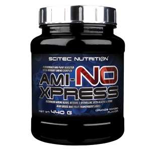 Scitec Nutrition Ami-NO Xpress BCAA & EAA Performance and Pump booster - 440g