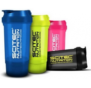 Scitec Nutrition 'Traveller'  Protein Shaker Drinks Bottle - Various Colours 500ml