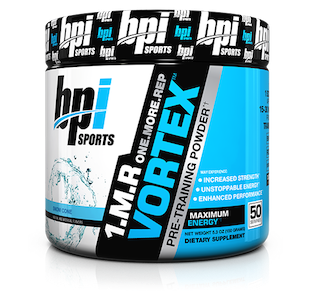 BPI Best 1MR Vortex Extreme Pre-Workout - 150g (50 servings)