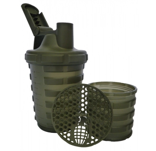 Grenade PA / DEHP Free Army Green Protein Shaker