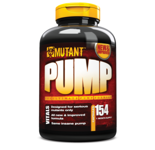 Mutant Pump Pre Workout with HyperOx™ and L-Arginine - 154 Capsules