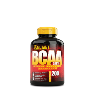 Mutant BCAA with 100% free form BCAAs and BioPerine® - 200 Capsules