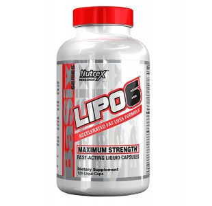 Nutrex Lipo-6 Black Ultra Concentrate Fat Loss Support - 60 Capsules