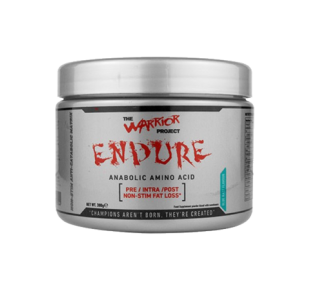 Warrior Project Endure BCAA + EAA Non-Stim Pre / Intra / Post workout - 510g