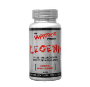 Warrior Project Legend Selective Androgen Receptor Modulator (SARMs) - 60 Capsules